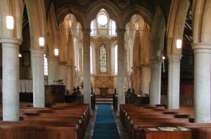 Inside St Mary's Church Westwell Kent