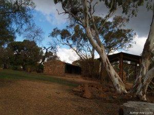 old settler's cottage near Willaston , S.A.
